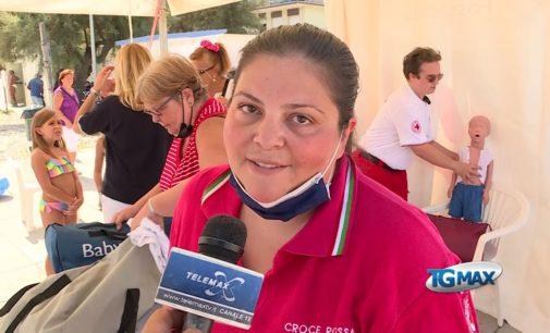 Fossacesia: manovre salvavita pediatriche, lezione in spiaggia