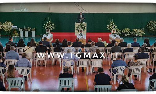 Casoli: celebrati i funerali di Alessandro, Massimiliano e Mattia
