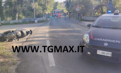 Miglianico: in scooter contro il guardrail, muore operaio di Francavilla al mare