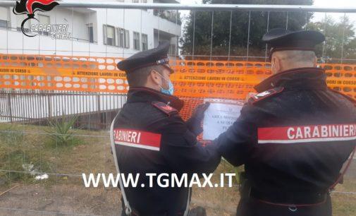 Ortona: disposto il sequestro della palazzina Ater a seguito del cedimento strutturale