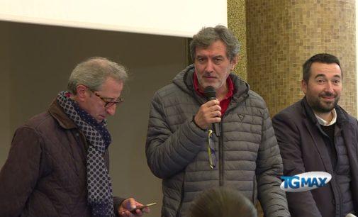 Marco Marsilio a Lanciano commenta il voto del ballottaggio in Abruzzo