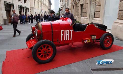 Teramo: le auto storiche celebrano D'Annunzio e il centenario dell'impresa di Fiume